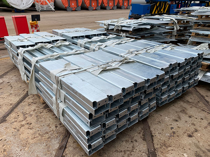 Cold work sheet metal
